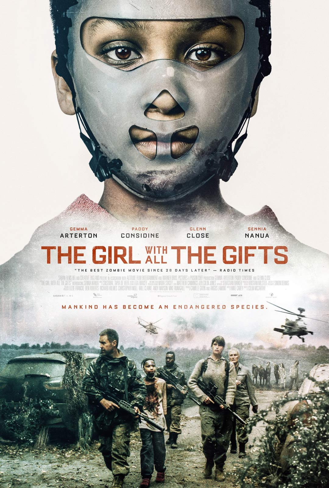 The Girl with All the Gifts Poster #4