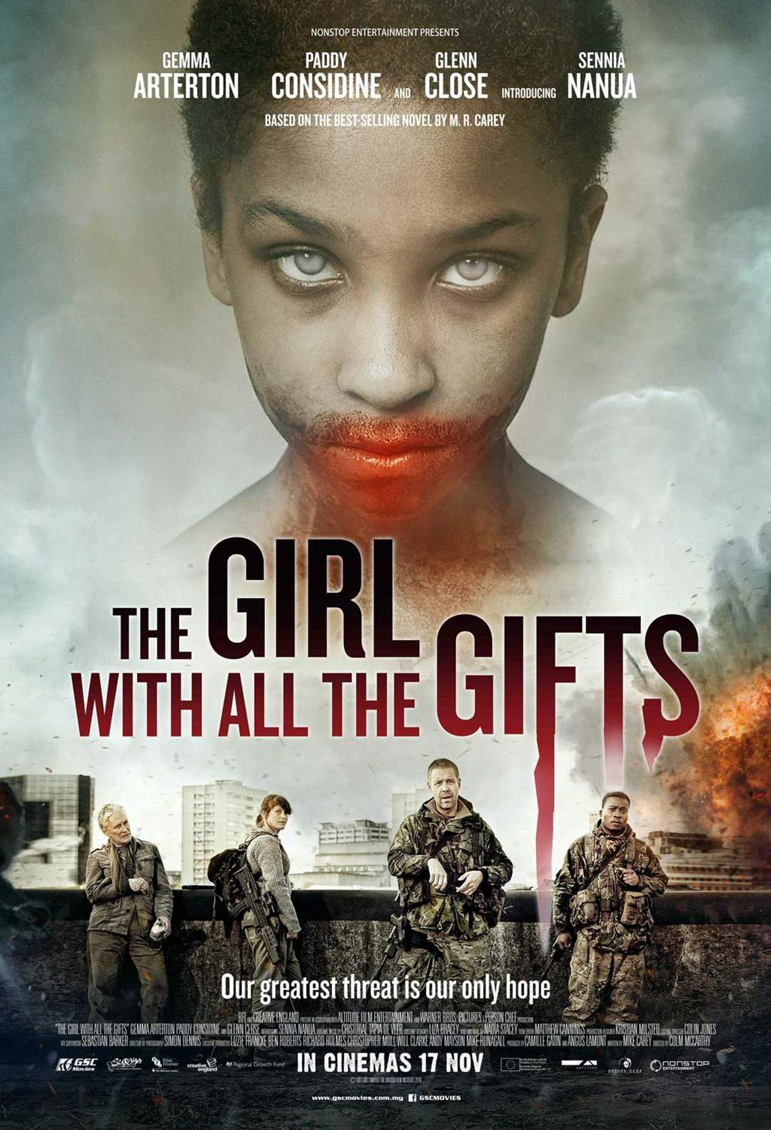 The Girl with All the Gifts Poster #1