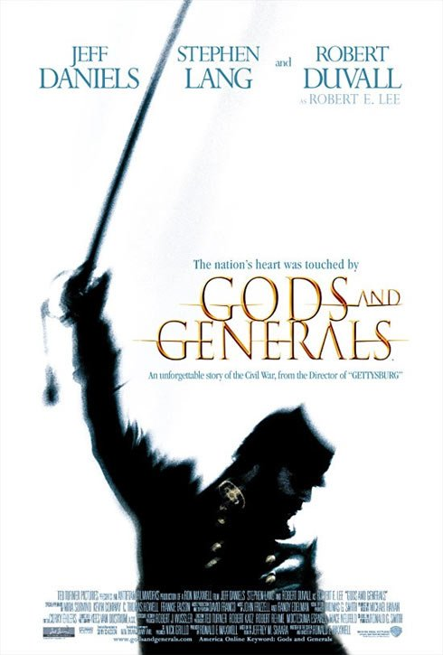 Gods and Generals Poster #1