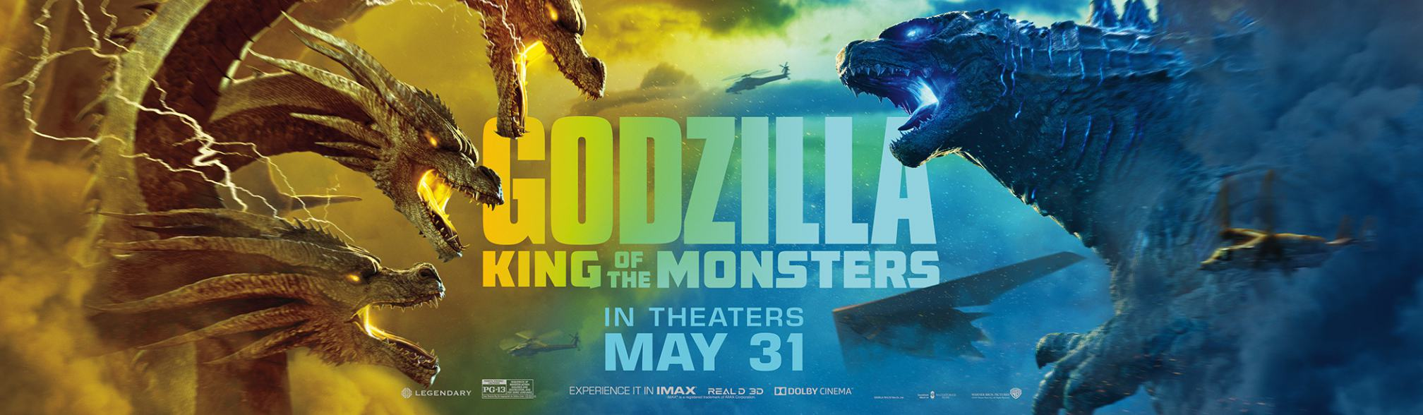 Godzilla King Of The Monsters 2019 Poster 10 Trailer Addict