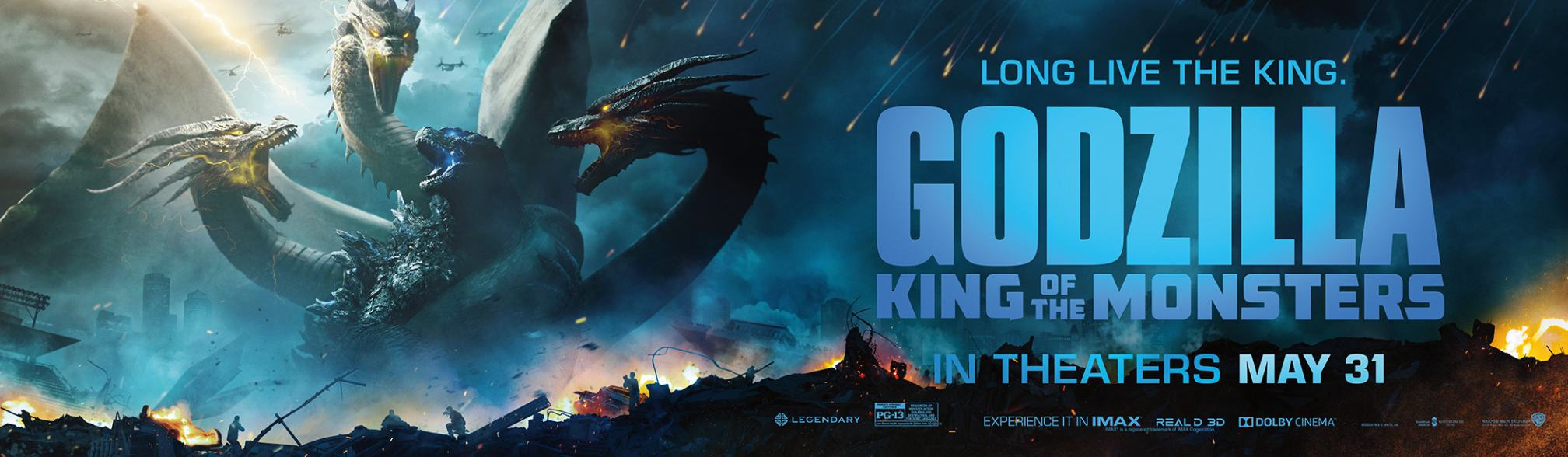 Godzilla: King of the Monsters Poster #11