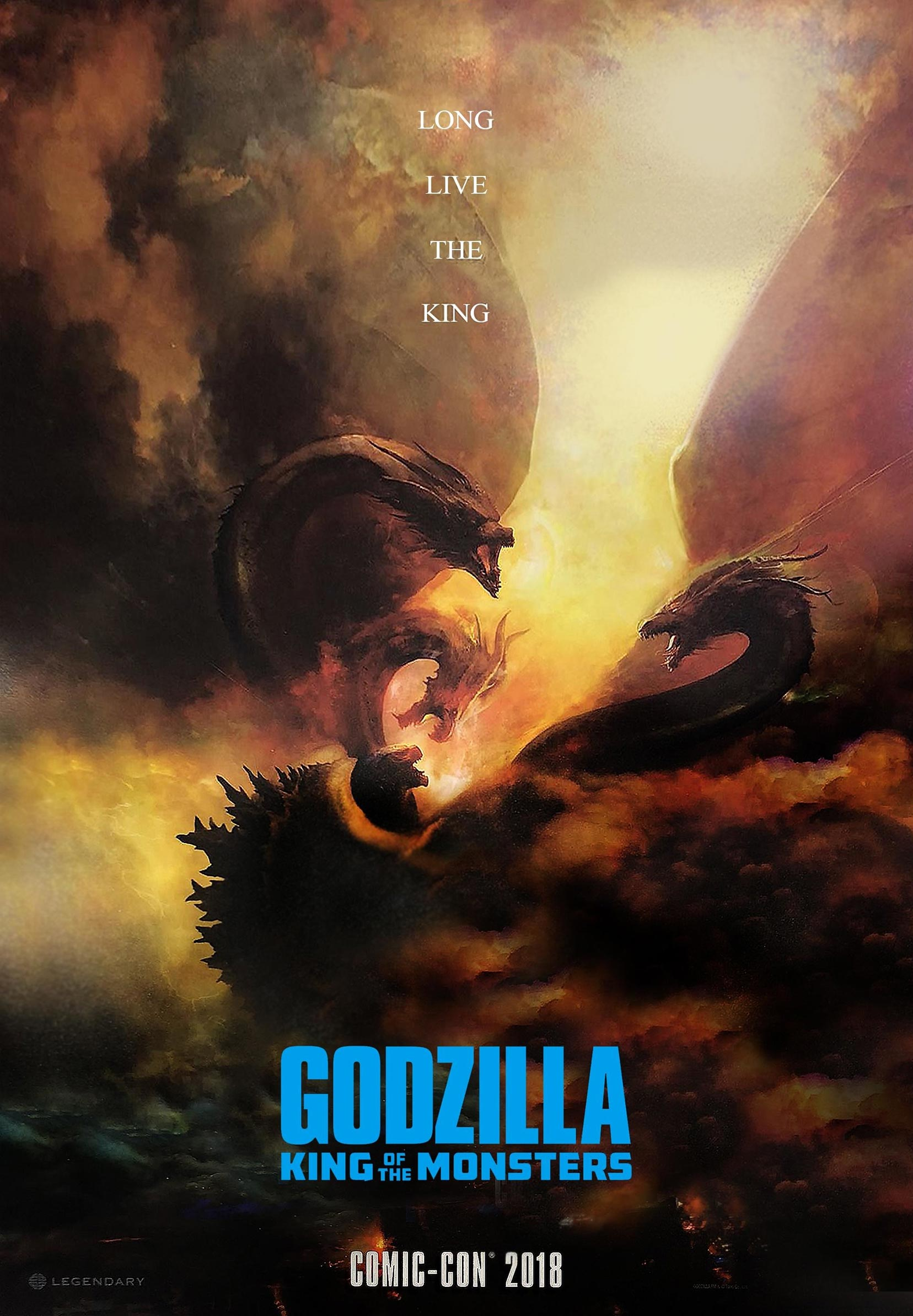 Godzilla: King of the Monsters Poster #2