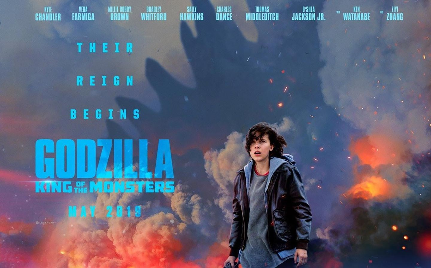 Movie Poster 2019: Godzilla: King Of The Monsters (2019) Poster #3