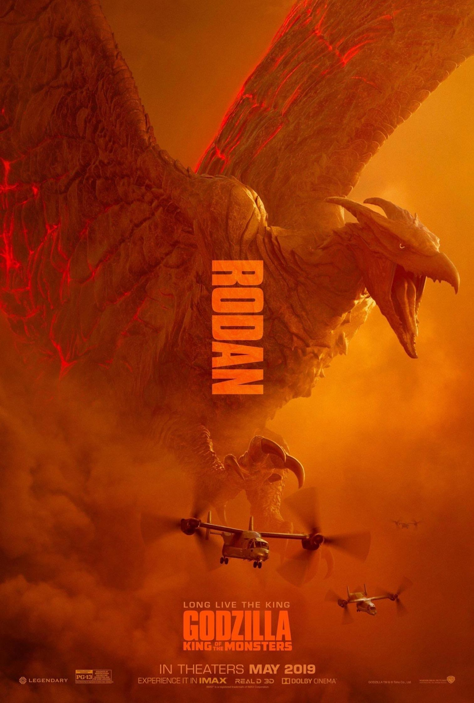 Godzilla: King of the Monsters Poster #7