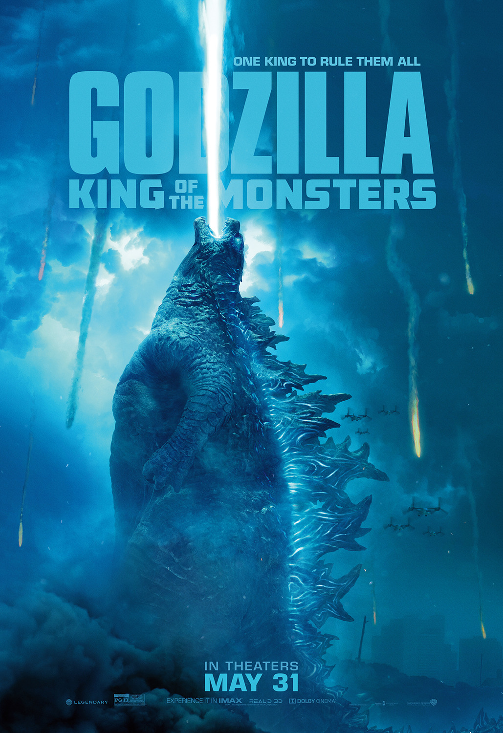 Godzilla: King of the Monsters Poster #8