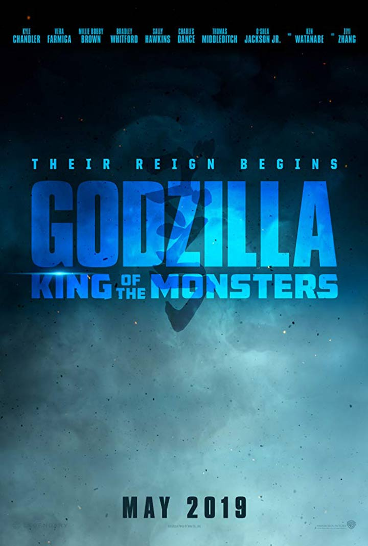 Godzilla: King of the Monsters Poster #1