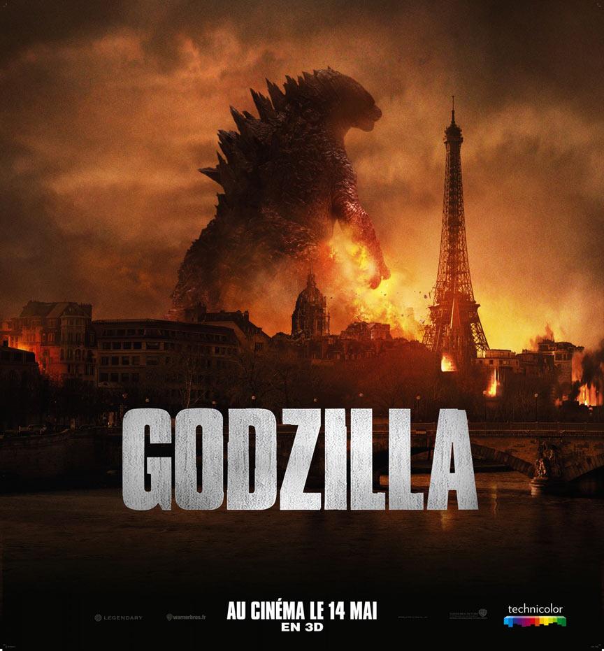 Godzilla (2014) Poster #1
