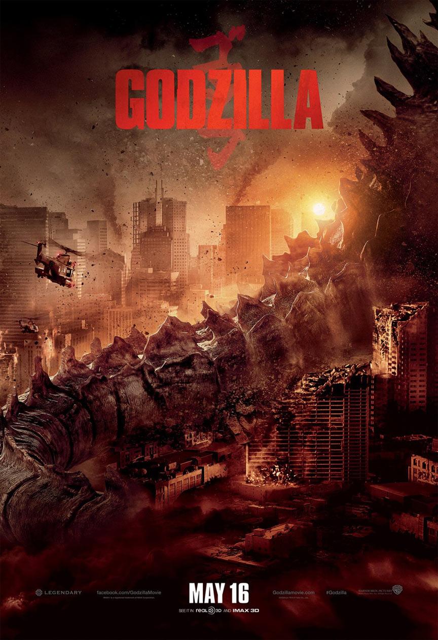 Godzilla (2014) Poster #1 - Trailer Addict
