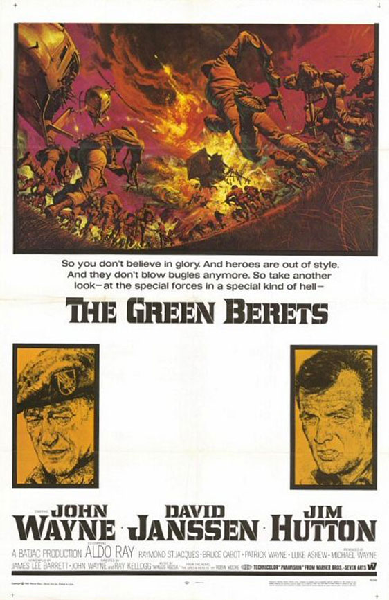 The Green Berets Poster #1