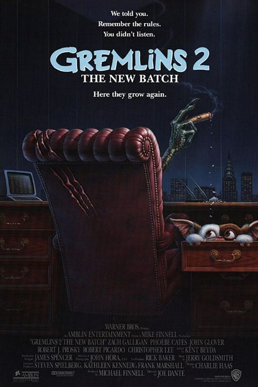 Gremlins 2: The New Batch Poster #2