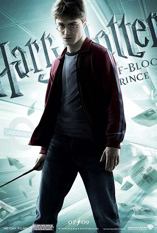 Harry Potter and the Half-Blood Prince Poster #5