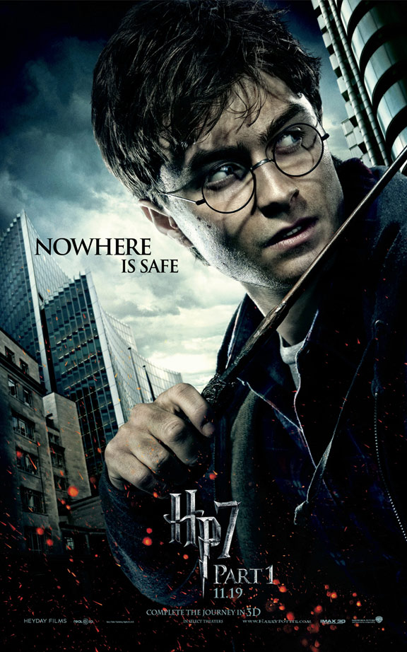 Harry Potter and the Deathly Hallows: Part I Poster #4