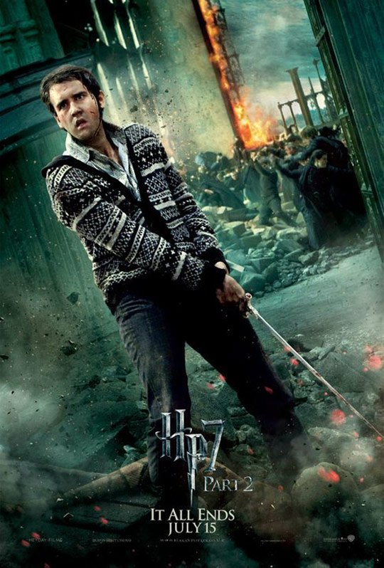 Harry Potter and the Deathly Hallows Part II Poster #12