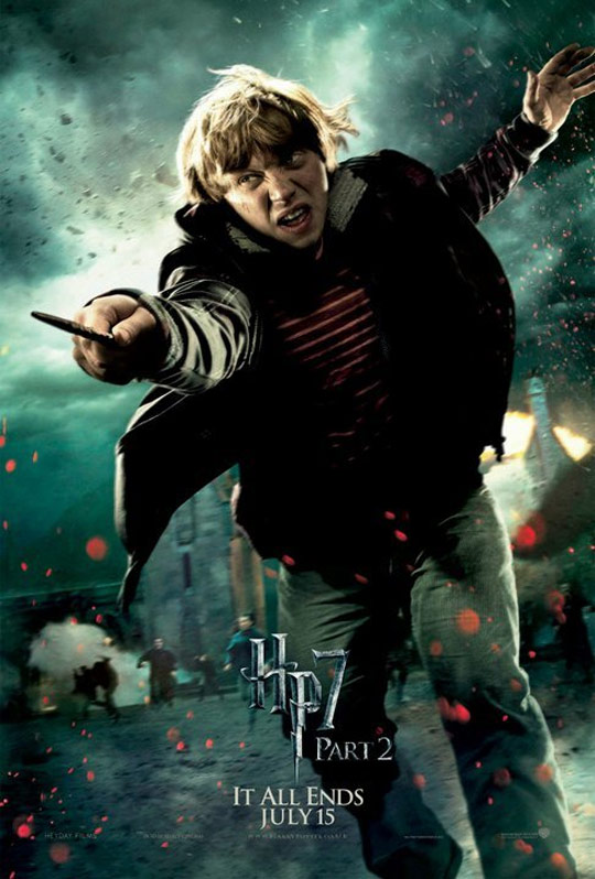 Harry Potter and the Deathly Hallows Part II Poster #16