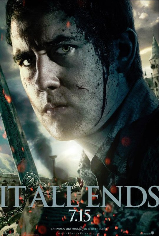Harry Potter and the Deathly Hallows Part II Poster #6
