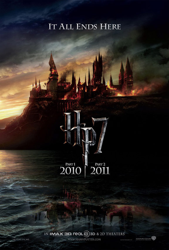 Harry Potter and the Deathly Hallows Part II Poster #1