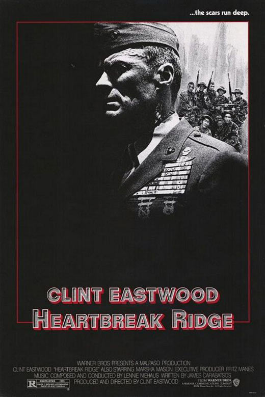 Heartbreak Ridge Poster #2