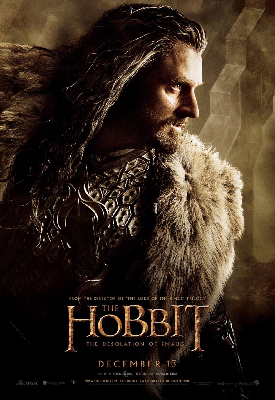The Hobbit: The Desolation of Smaug Poster #12