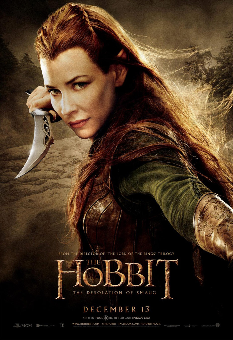 The Hobbit The Desolation Of Smaug 2013 Poster 13 Trailer Addict