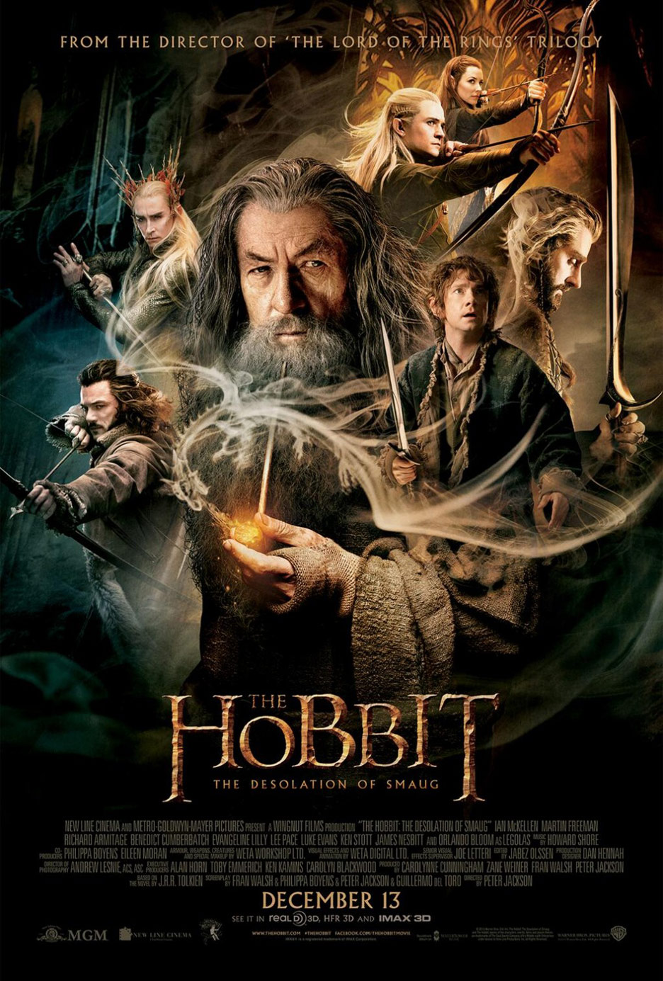 The Hobbit: The Desolation of Smaug Poster #15