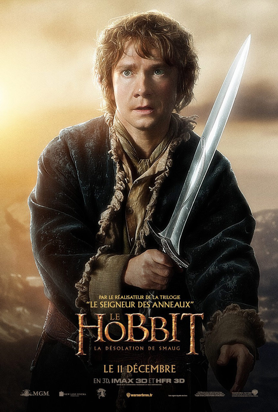 The Hobbit The Desolation Of Smaug 2013 Poster 16 Trailer Addict