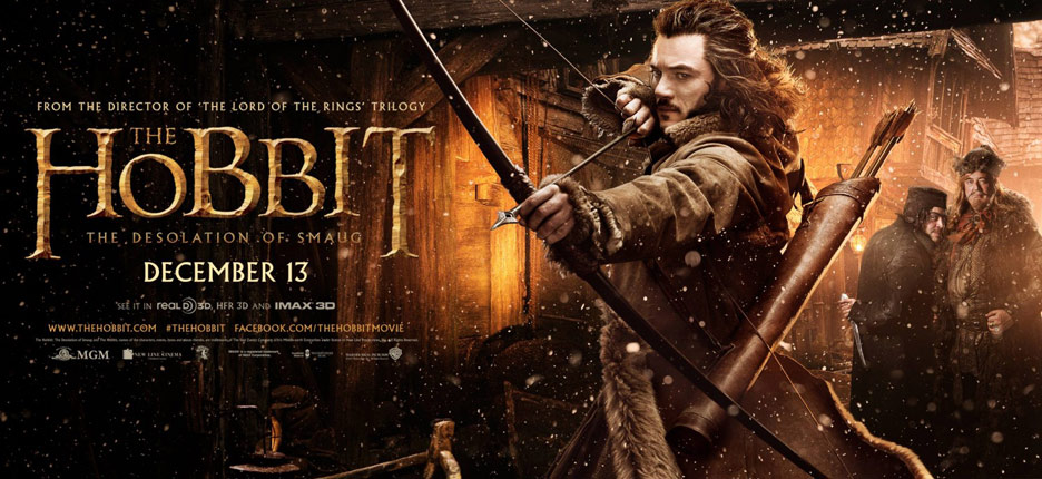 The Hobbit: The Desolation of Smaug Poster #4