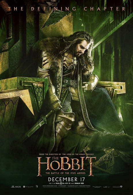 The Hobbit: The Battle of the Five Armies Poster #13