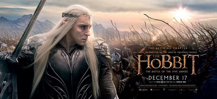 The Hobbit: The Battle of the Five Armies Poster #17