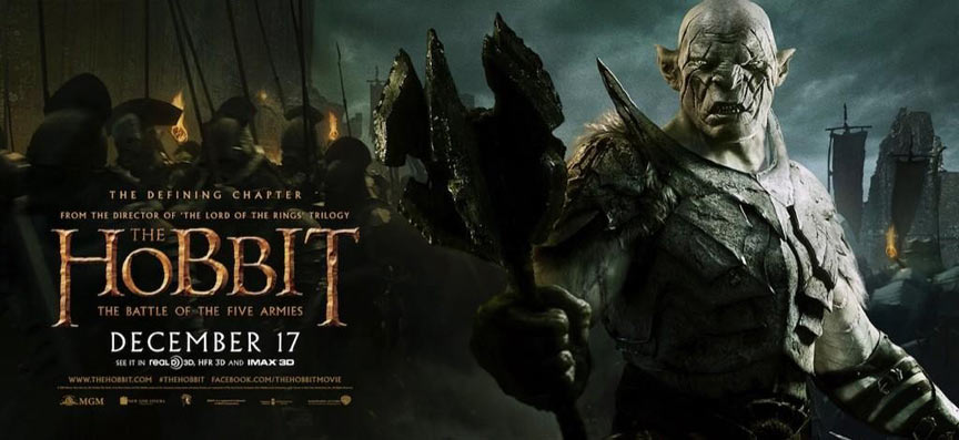 The Hobbit The Battle Of The Five Armies 2014 Poster 19 Trailer Addict