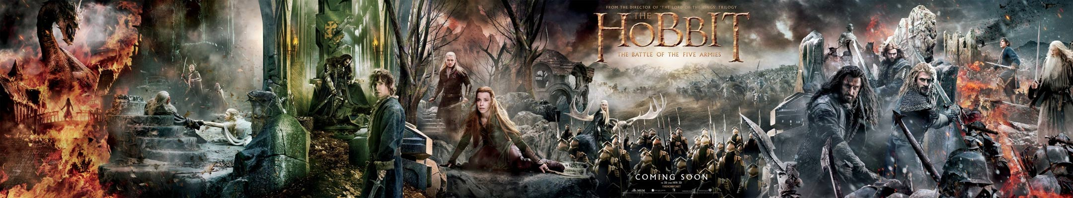 The Hobbit: The Battle of the Five Armies Poster #2