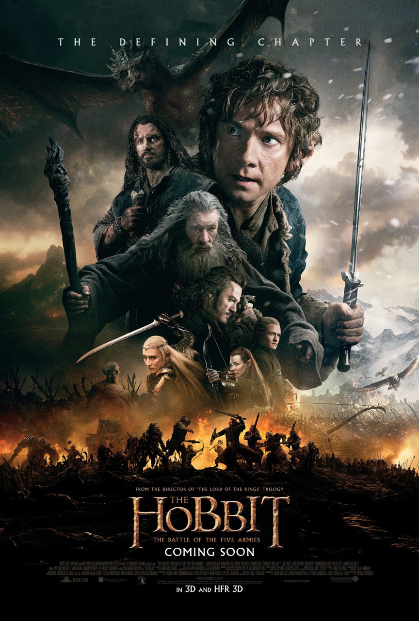 The Hobbit: The Battle of the Five Armies Poster #21