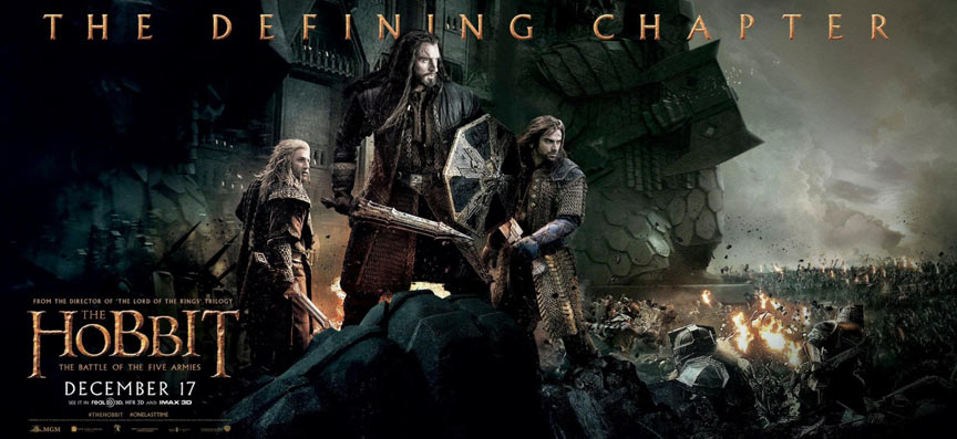 The Hobbit: The Battle of the Five Armies Poster #22