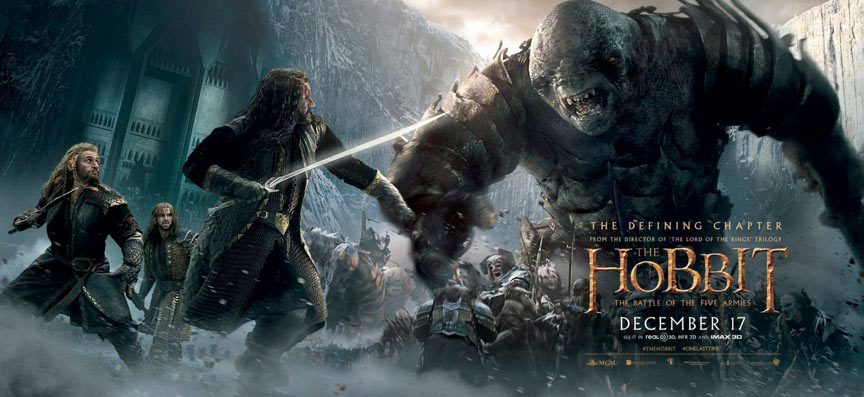 The Hobbit: The Battle of the Five Armies Poster #23