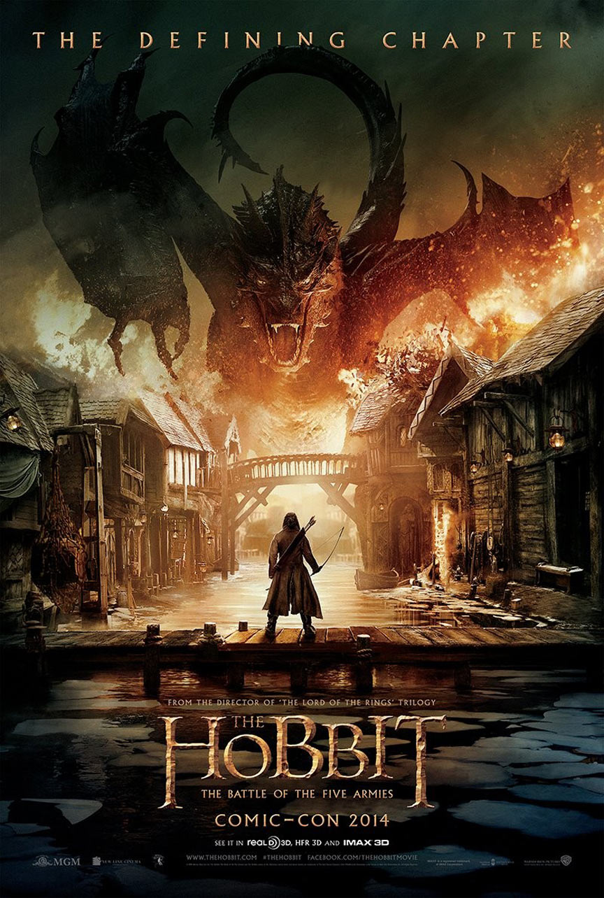 The Hobbit: The Battle of the Five Armies Poster #1
