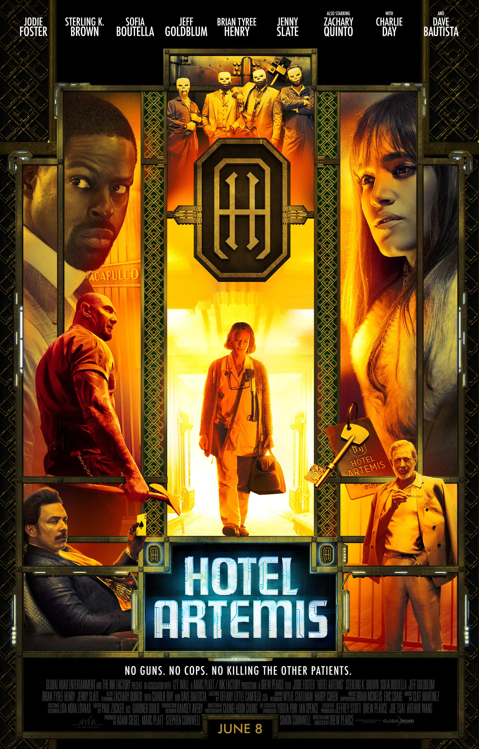 Hotel Artemis Poster #11