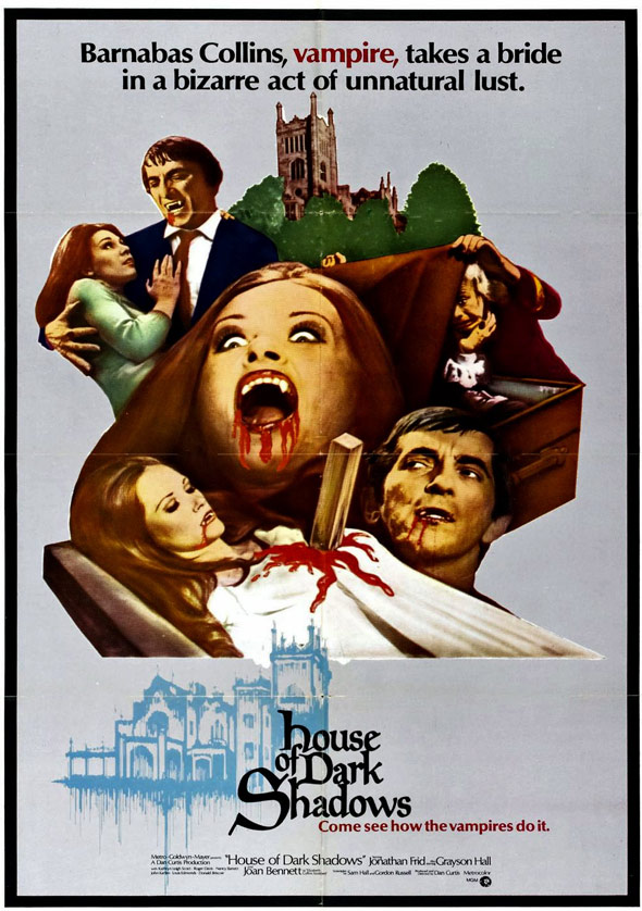 House of Dark Shadows Poster #1