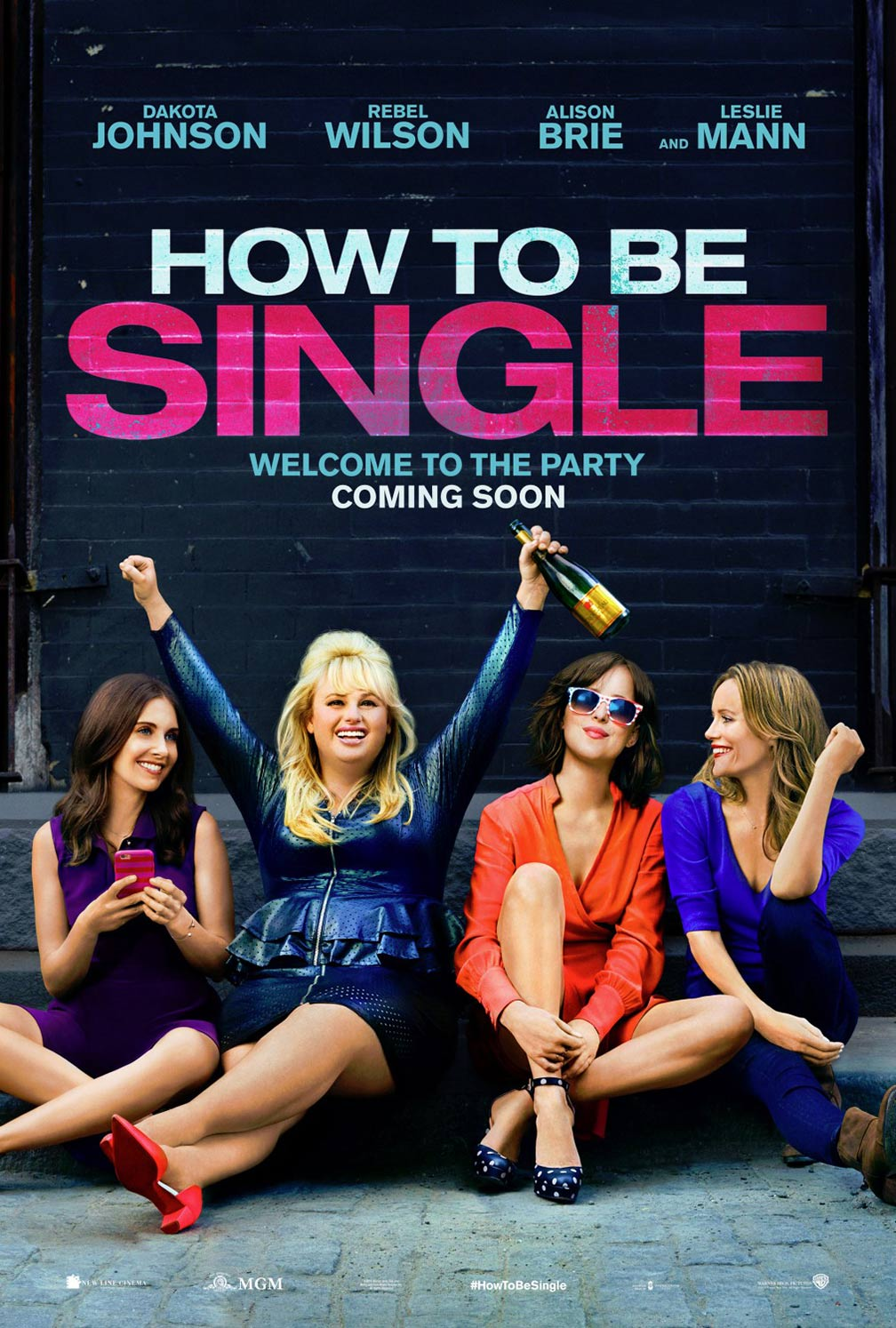 How To Be Single Poster #1