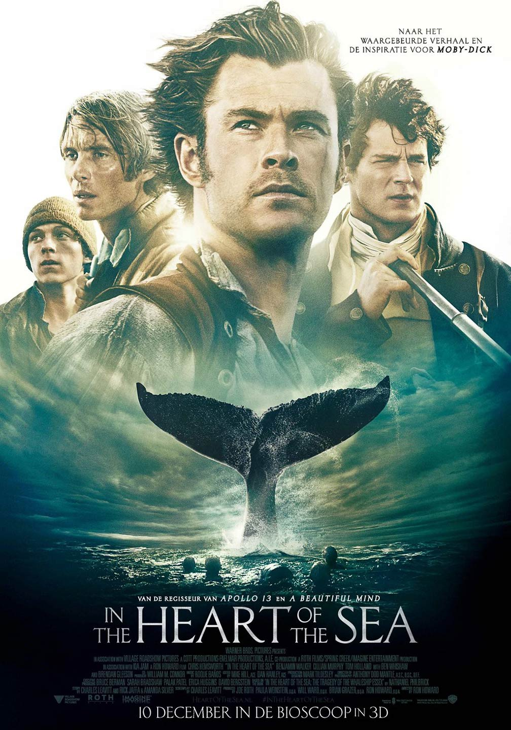 In the Heart of the Sea Poster #3