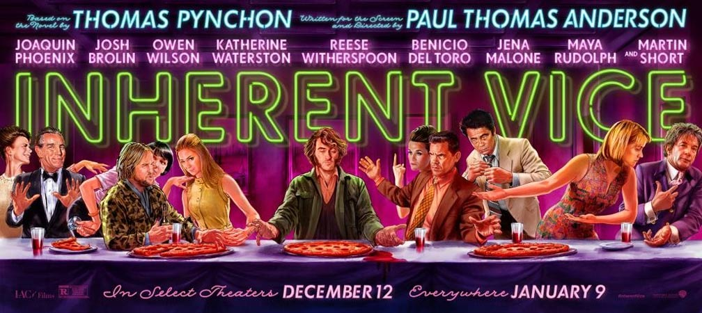 Inherent Vice Poster #3