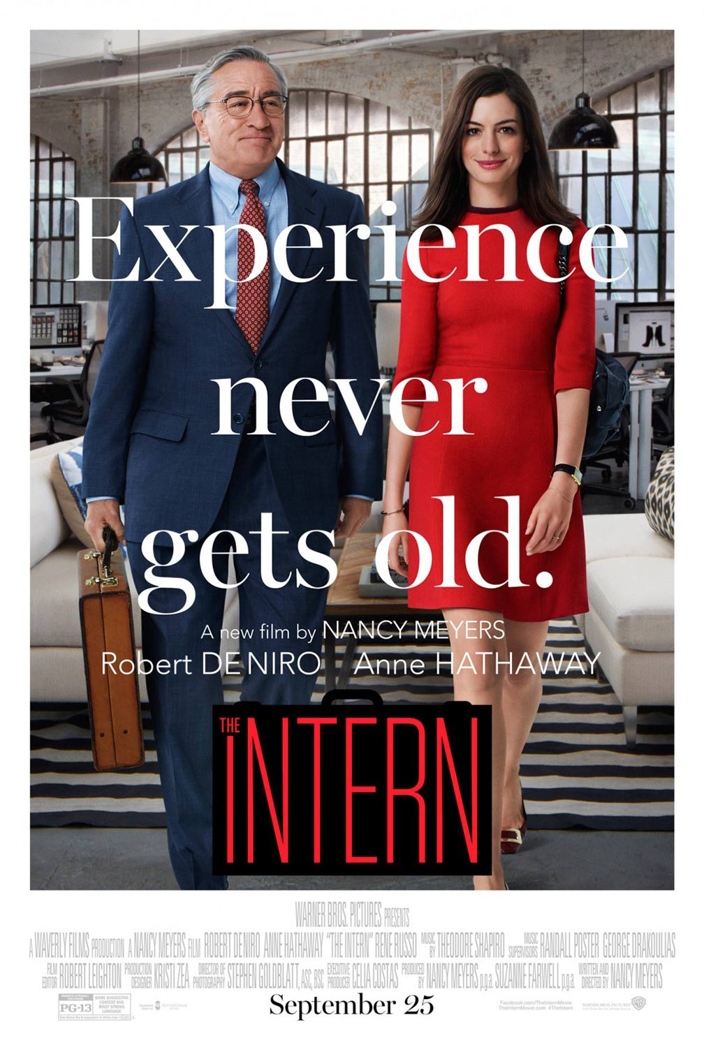 The Intern Poster #1