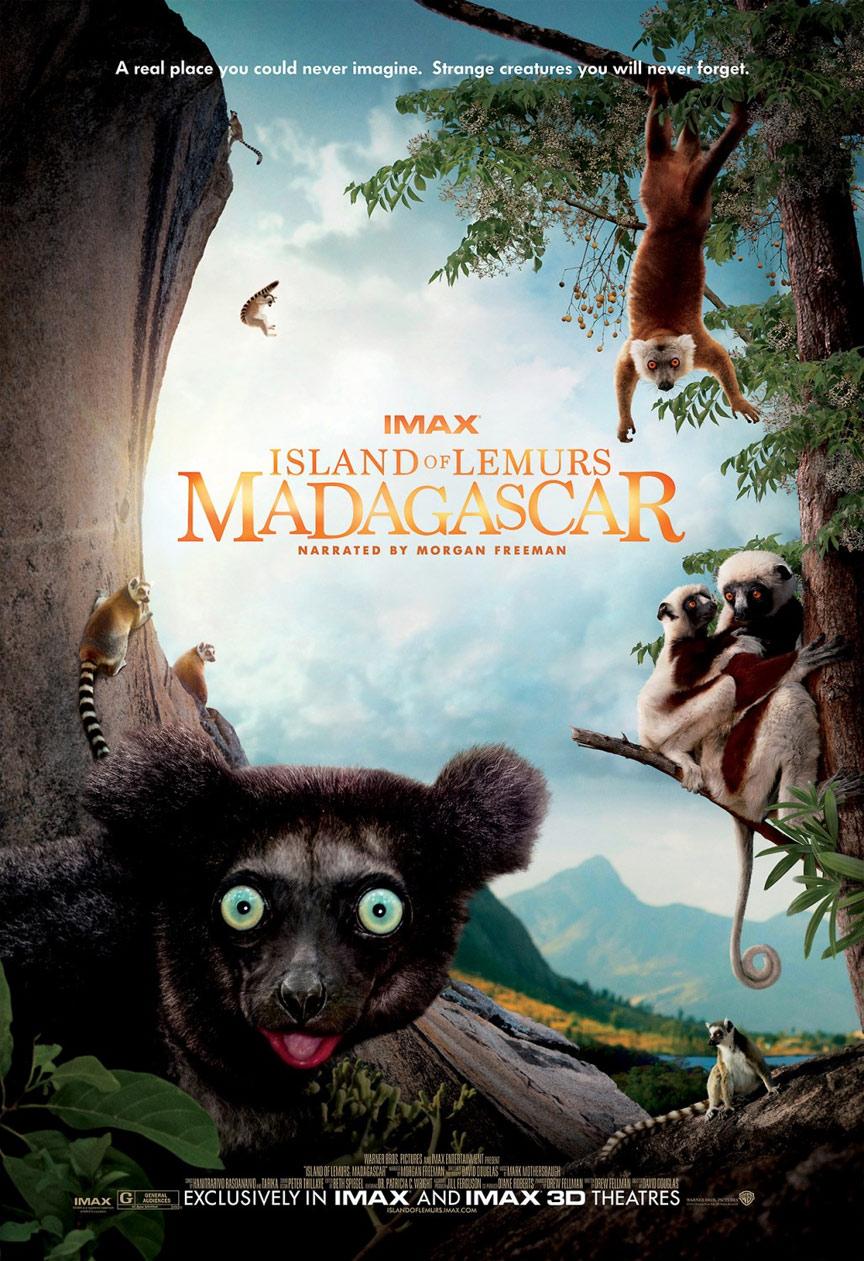 Island of Lemurs: Madagascar Poster #1