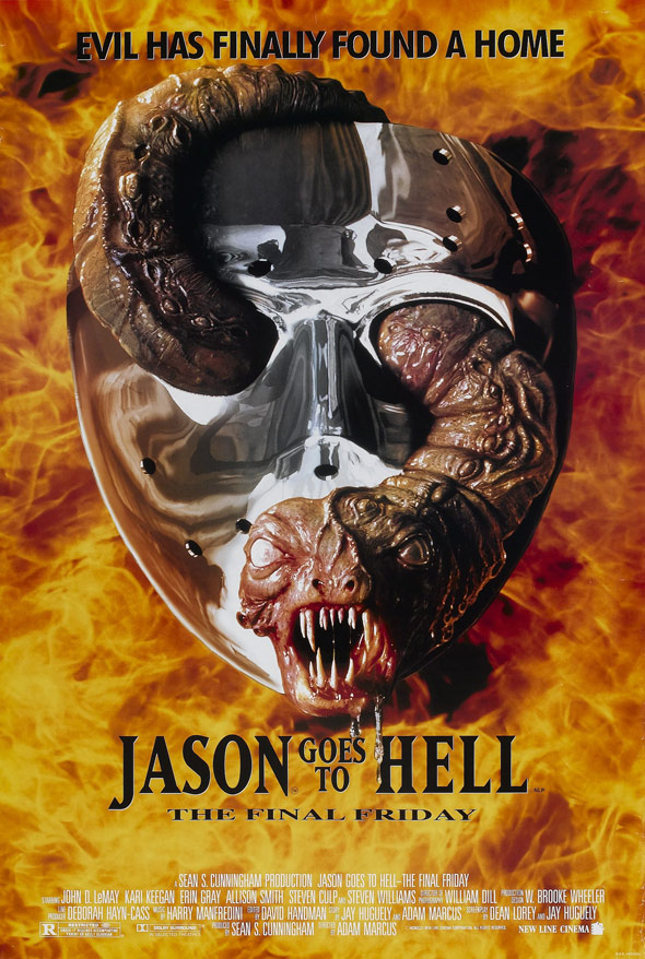 Jason Goes to Hell: The Final Friday Poster #1
