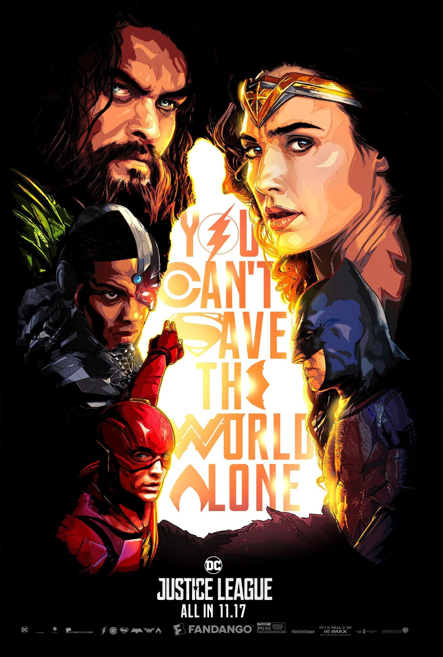 Justice League Poster #16