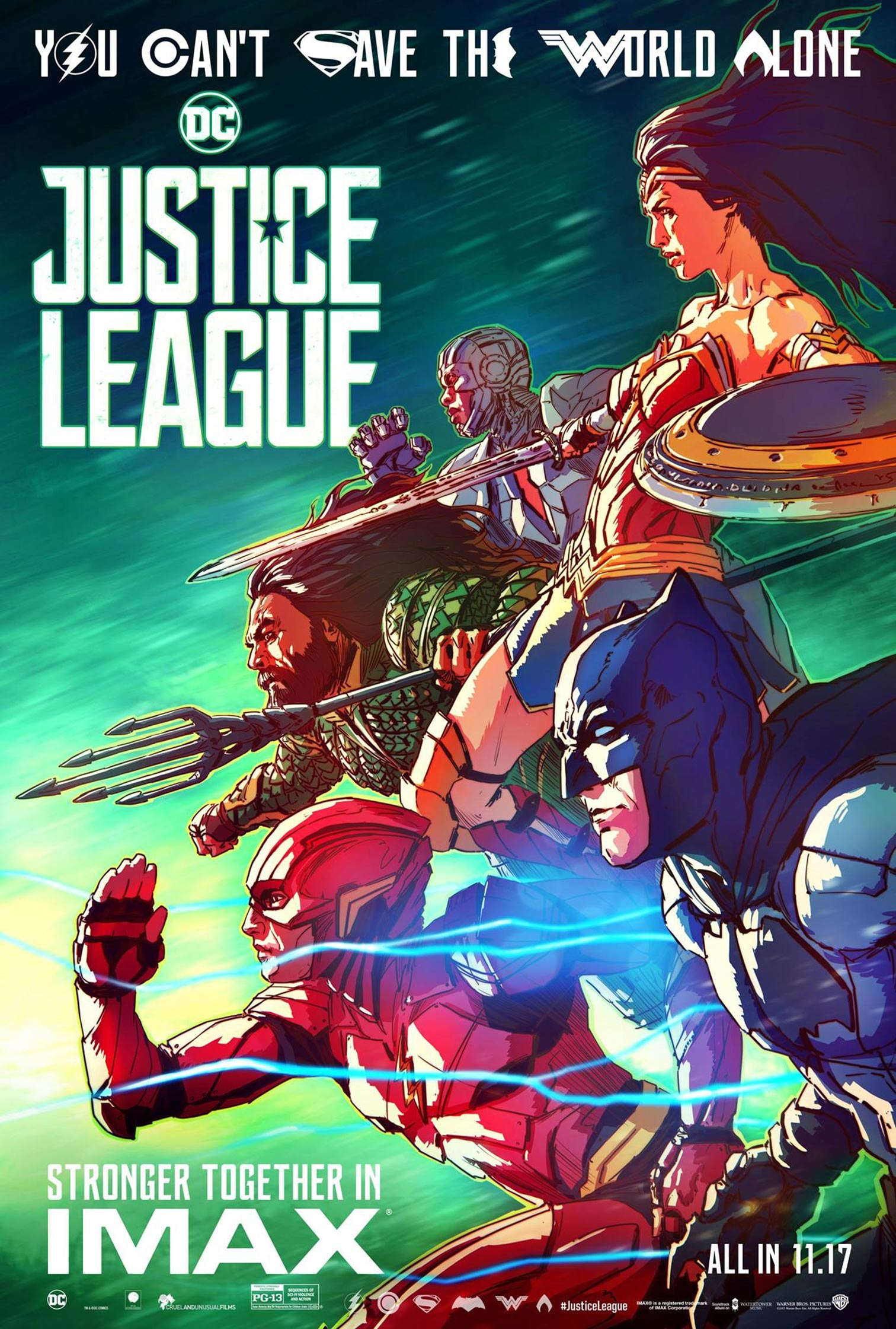 Justice League Poster #17