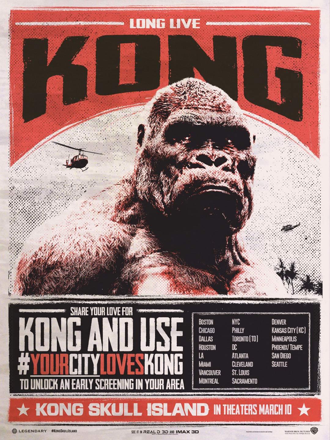 Kong: Skull Island Poster #13