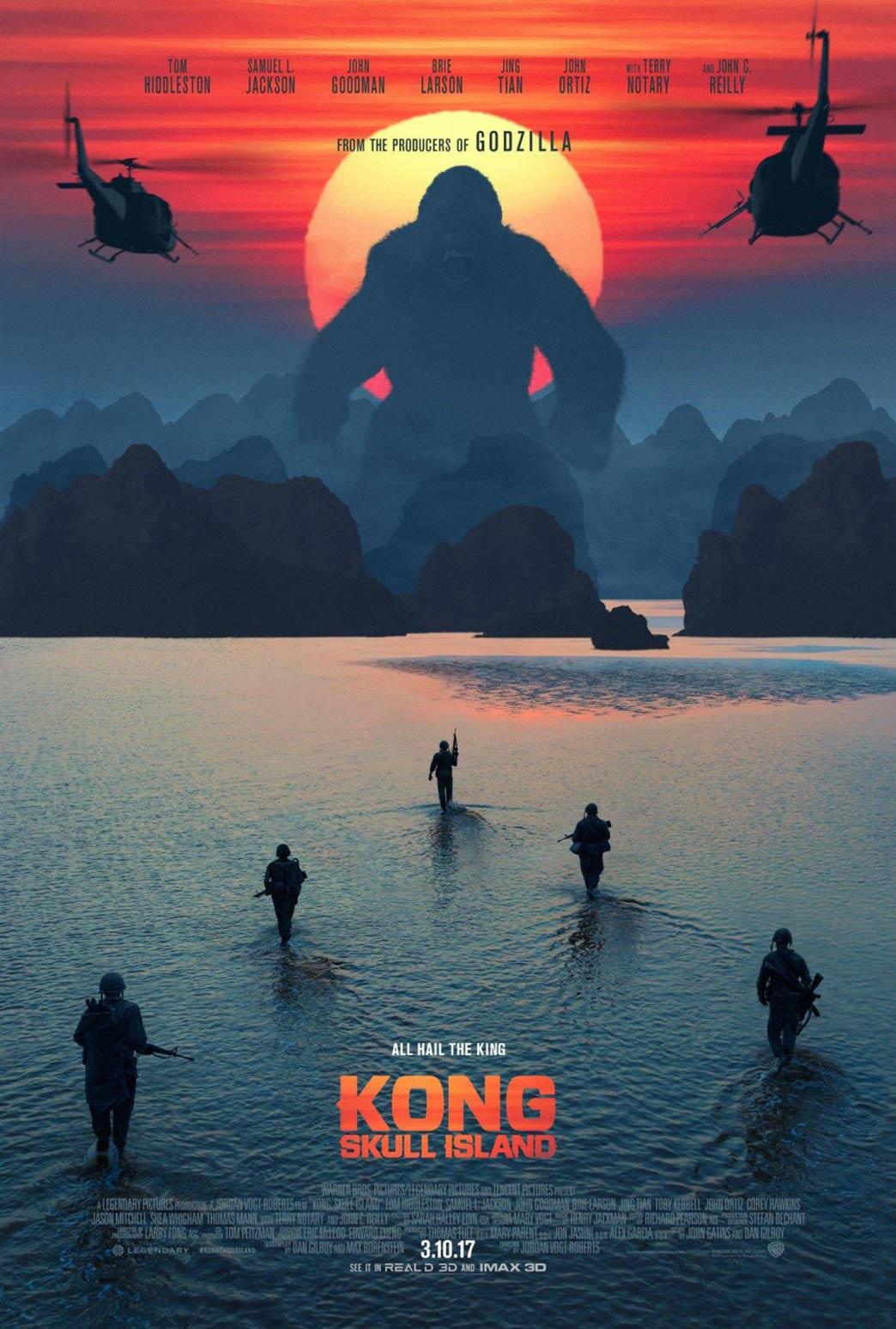 Kong: Skull Island Poster #2