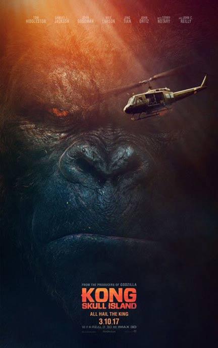 Kong: Skull Island Poster #3