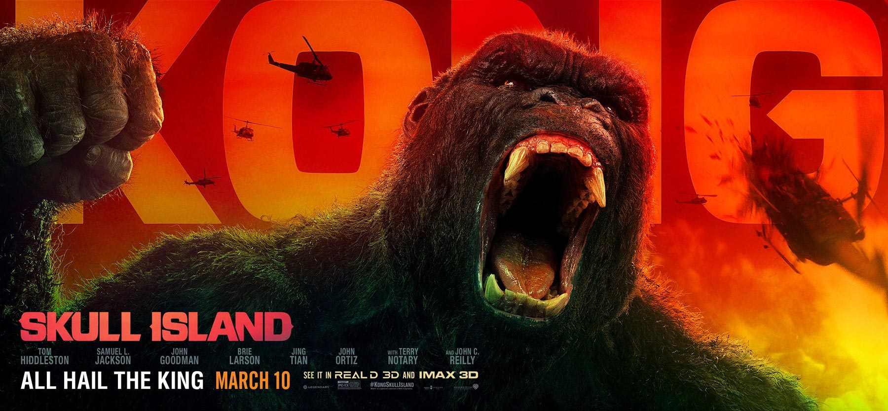 Kong: Skull Island Poster #4