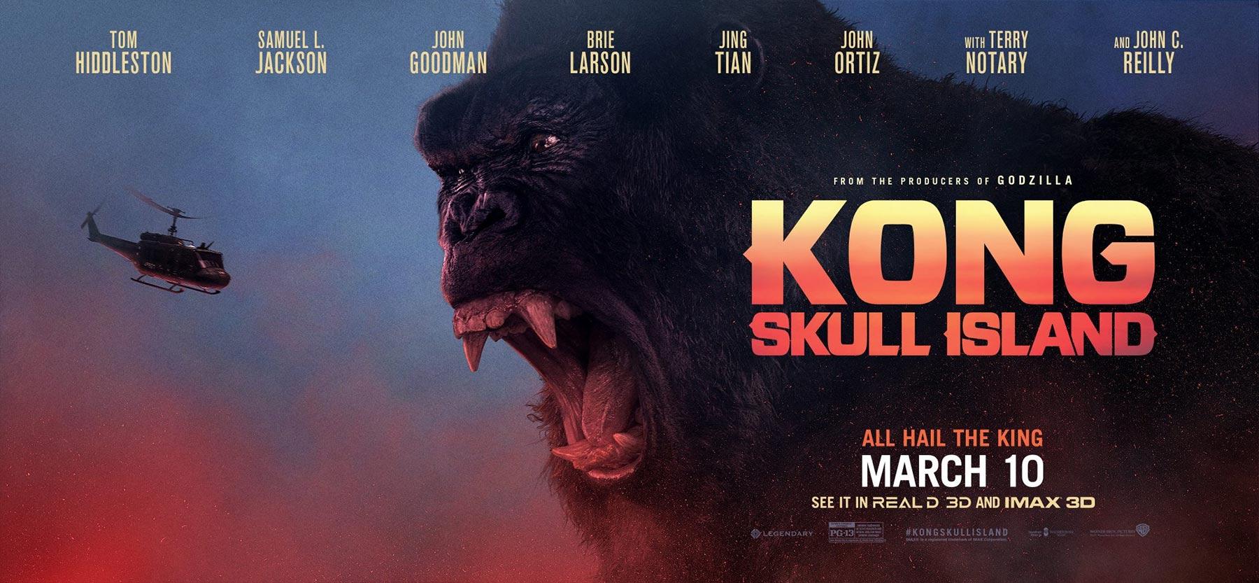 Kong: Skull Island Poster #6