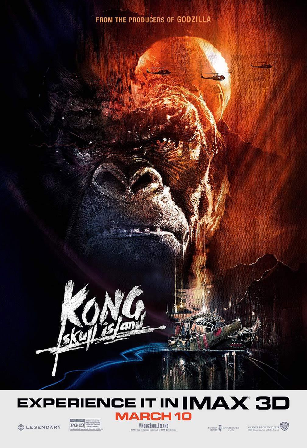 Kong: Skull Island Poster #8